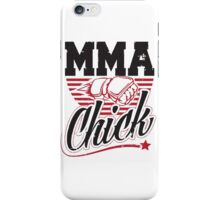 MMA Chick iPhone Case/Skin