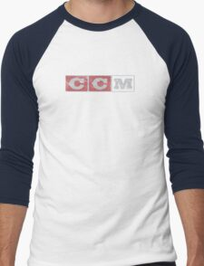 CCM logo Men's Baseball ¾ T-Shirt