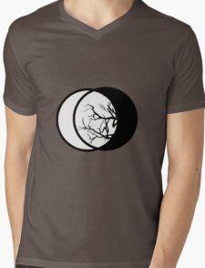 Geometric Lunae II Mens V-Neck T-Shirt