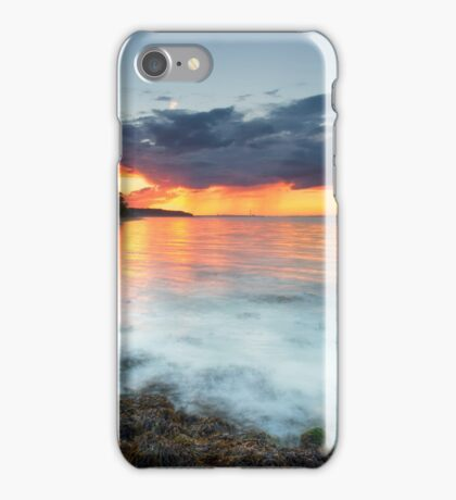Isle Of Wight Sunset iPhone Case/Skin