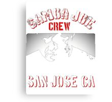 samoa joe crew  Canvas Print