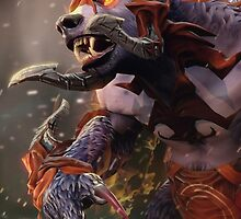 Ursa Dota 2 Hero Champion by deshmc