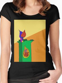 The Heat Cigarettes  Women's Fitted Scoop T-Shirt