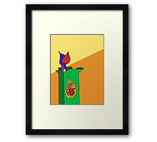 The Heat Cigarettes  Framed Print