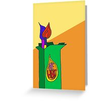 The Heat Cigarettes  Greeting Card