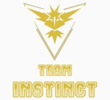 Pokemon Go: Team Instinct Kids Tee