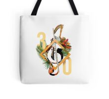 Flowers Music Tote Bag