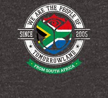 People of Tomorrowland Flags logo Badge - South Africa - South African - afrique du sud - africa Unisex T-Shirt