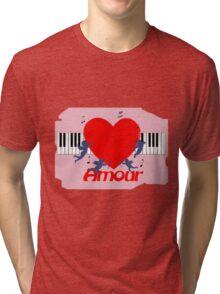 Michael Jackson - Beat it (inspired) Tri-blend T-Shirt