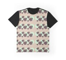 Brassica- abstract purple cabbage and green spots Graphic T-Shirt