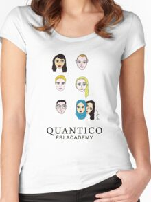 Quantico Women's Fitted Scoop T-Shirt