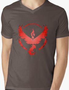 Team Valor: Stained Mens V-Neck T-Shirt