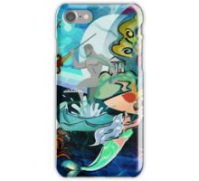 Mother Gaia and Her Sea Children (Collage) iPhone Case/Skin
