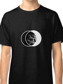 Geometric Lunae II Black Classic T-Shirt