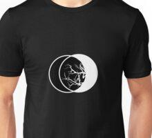 Geometric Lunae II Black Unisex T-Shirt
