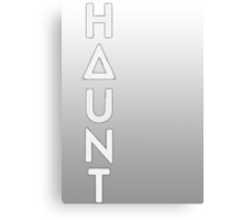 Bastille - Haunt #2 Canvas Print