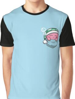 Pocket Kirby  Graphic T-Shirt