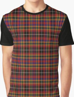 02372 Mecklenburg County, North Carolina  Fashion Tartan  Graphic T-Shirt