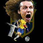 David Luiz by mijumi