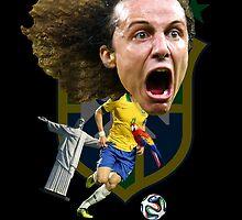 David Luiz by mijumi