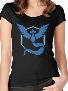 Pokemon Go Team Mystic (blue) Women's Fitted Scoop T-Shirt