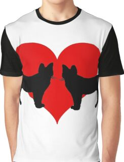Cats in love Graphic T-Shirt
