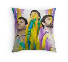 Animal Collective Colorful Throw Pillow