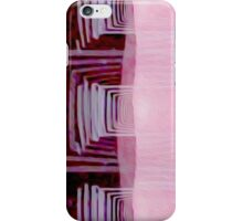 Pink on Brown iPhone Case/Skin