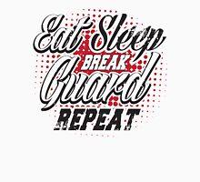 Eat sleep break guard repeat Unisex T-Shirt