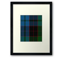 10016 Stewart of Bute Clan/Family Tartan  Framed Print