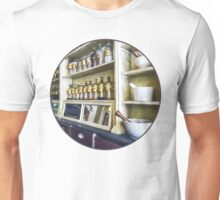 Three Mortar and Pestles in Pharmacy Unisex T-Shirt