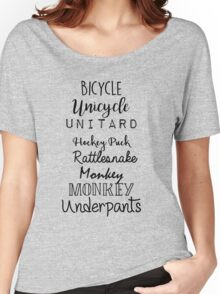 Gilmore Girls - Bicycle Unicycle Women's Relaxed Fit T-Shirt