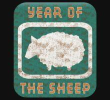 Year of The Sheep Goat Ram by ChineseZodiac