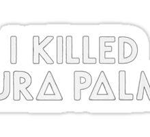 Bastille - Laura Palmer #3 Sticker