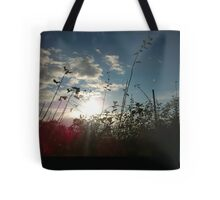 Welsh Sunset In The Hills Tote Bag