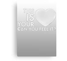 Bastille - Laura Palmer #4 (This Is Your Heart, Can You Feel It?) Canvas Print