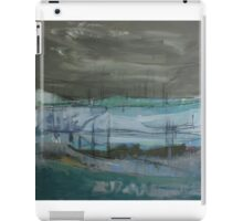 grey landscape iPad Case/Skin
