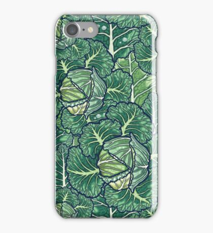 dreaming cabbages iPhone Case/Skin