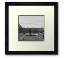 Bethesda in the Winter Framed Print