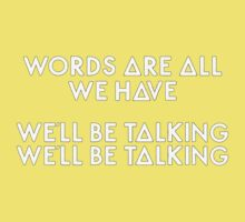 Bastille - Overjoyed #3 (Words Are All We Have, We'll Be Talking, We'll Be Talking) Kids Clothes