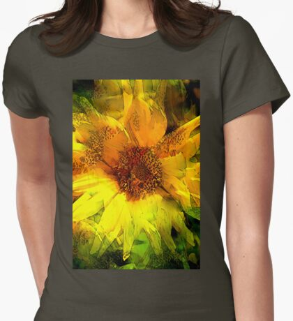 Sunflower 8 Womens Fitted T-Shirt