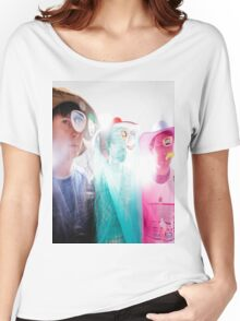Animal Collective Magazine Pieces  Women's Relaxed Fit T-Shirt