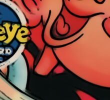 Popeye Record Sticker