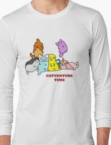 Catventure Time Long Sleeve T-Shirt
