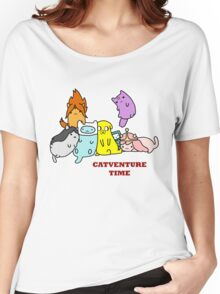Catventure Time Women's Relaxed Fit T-Shirt