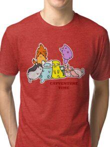 Catventure Time Tri-blend T-Shirt