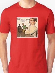 Vintage Record Smoking Puppet Unisex T-Shirt