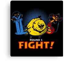 Aviary Kombat Canvas Print