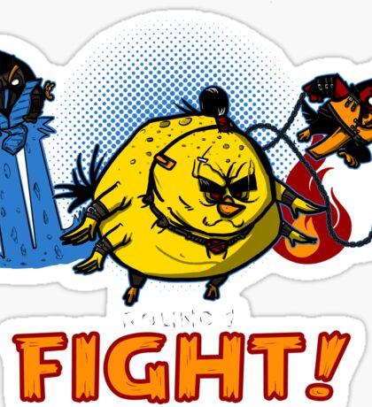 Aviary Kombat Sticker