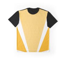 VICTORY HONEY COMB YELLOW DESIGN Graphic T-Shirt